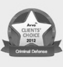 AVVO Clients' Choice 2012 Criminal Defense
