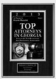 Top Attorneys in Georgia 2013